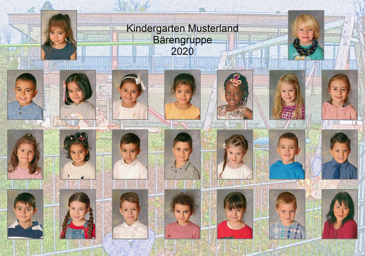 Gruppenspiegel Kindergarten